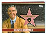 Mr Rogers Fred Rogers trading card 2011 Topps Hollywood Walk of Fame #HWF-11