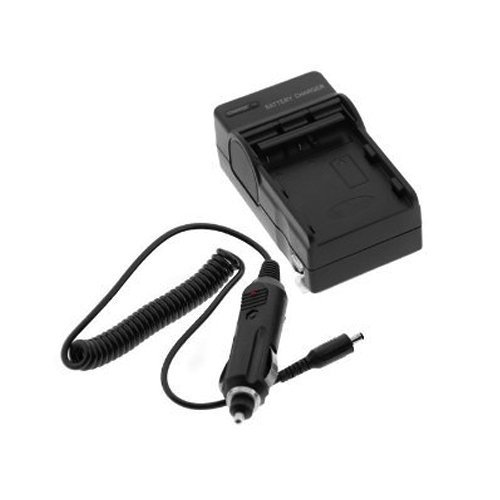 Premium ENEL3 Digital Camera Battery Charger with Car Adapter for Nikon Digital Camera