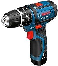 Comprar Bosch GSB 10,8 -2-LI - Taladro (Ión de litio, 10.8V, 30 min, 18.9 cm, 17.5 cm, 1 kg) Negro, Azul, Rojo