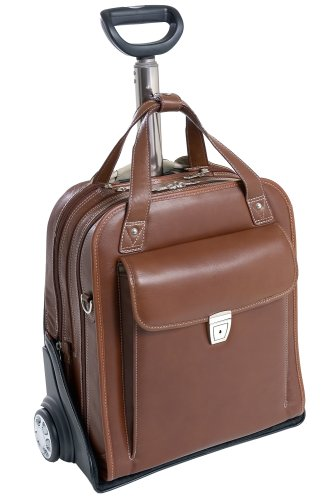 Siamod Vernazza Collection Pastenello Vertical Wheeled Laptop Case
