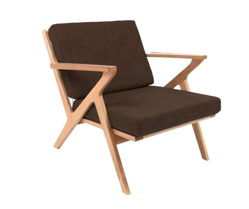 Fauteuil arm chair choco 1960
