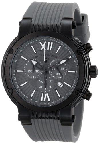 SWISS LEGEND Legato Cirque 10006-BB-014 50 Stainless Steel Case Rubber Anti-Reflective Sapphire Men's Quartz Watch