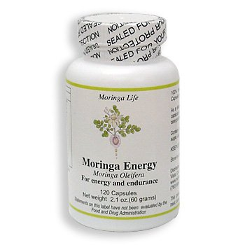 Moringa for Life - Organic Moringa Leaf Powder Capsules