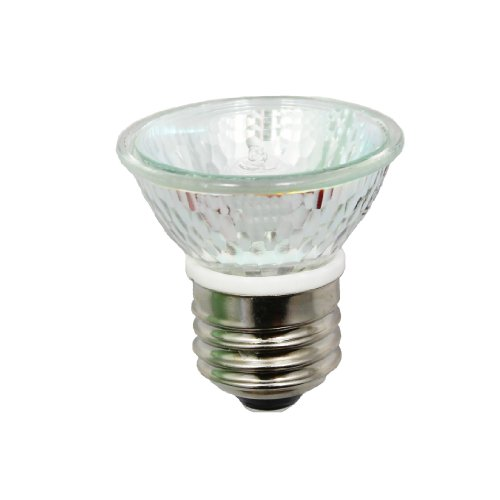 Anyray A1876Y (10-Pack) Hr16 120V 35W E26 Mr-16 35 Watt Jdr C Halogen Bulb Par16 Lamp Fmw Flood With Lens (35 Watts)