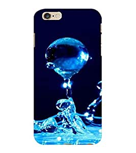 ColourCraft Water Drops Design Back Case Cover for APPLE IPHONE 6S PLUS