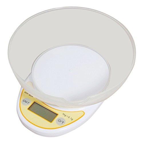 Weiheng WH-B04W Balance de Cuisine 1 kg Maximum Précision 0.1 g - avec un bol