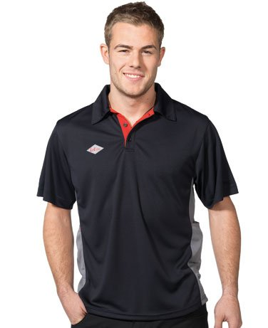Lee Cooper work wear Technical Polo Shirt, XXL, grau, LCTS003