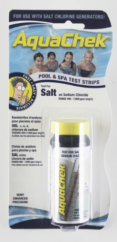 Aquachek White Salt Water Swimming Pool Test Strips (Sodium Chloride Water compare prices)
