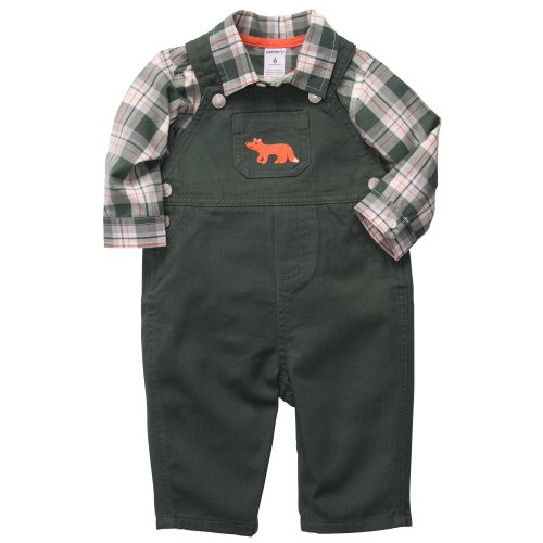 Carter's Baby Boys 2-piece Overall Set (6 Months,