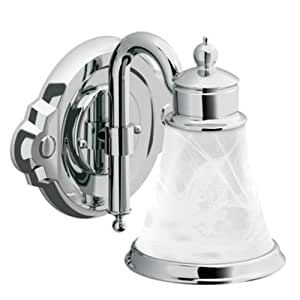 Moen Yb9861ch Waterhill Single Globe Bath Light Chrome Vanity Lighting Fixtures