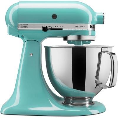 Aqua Sky Artisan Series (325-Watt )Tilt-Back Head Stand Mixer (Kitchen Aid Aqua Stand Mixer compare prices)