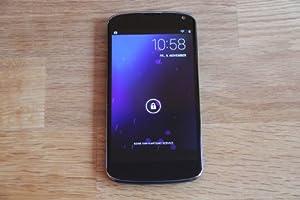 LG Google Nexus 4 8GB Smartphone Black Sim Free