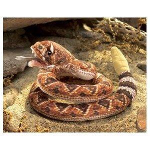 ガラガラヘビ ハンドパペット