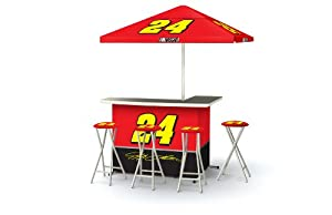 Best of Times NASCAR Patio Bar and Tailgating Center Deluxe Package- Jeff Gordon by Best of Times, LLC
