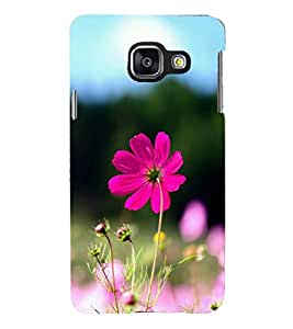 PRINTSHOPPII FLOWER Back Case Cover for Samsung Galaxy A3 (2016) Duos