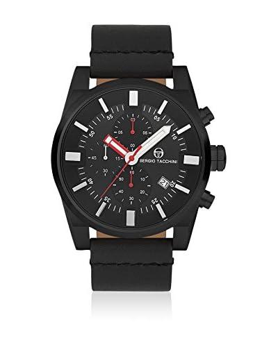 Sergio Tacchini Reloj de cuarzo Man Negro 54 mm