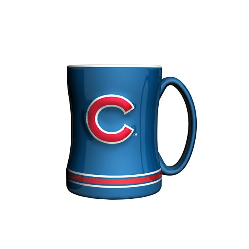 MLB Chicago Cubs Boelter Boxed Relief Sculpted Mug at Amazon.com