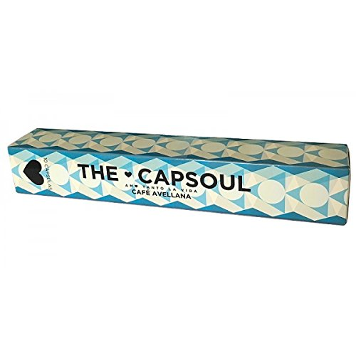 Nespresso Compatible Capsules - Gourmet ESPRESSO HAZELNUT - 10 caps x 5 sleeves (TOTAL: 50 caps) (Coconut Nespresso compare prices)
