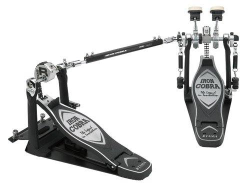 Tama TAMHP900RSWN Iron Cobra Coil Rolling Glide  Twin Bass Drum Pedal (Tama Cobra Coil compare prices)
