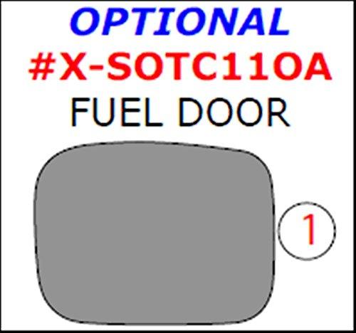 WOW Trim, Item# X-SOTC11OA-RCF Scion tC, Optional Fuel Door Overlay, 1 Piece Set, Real Carbon Fiber (Scion Tc Carbon Fiber Pillar compare prices)