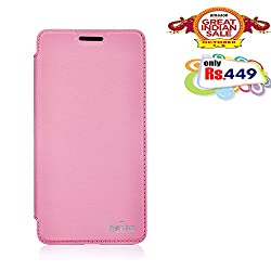 RSAFE Anti-Radiation Flip Book Case Cover For  Xiao Mi4 (pink)