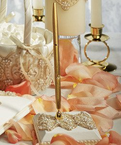 Weddingstar-Beverly-Clark-The-Luxe-Collection-Pen-with-Base-White