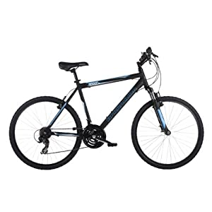 Barracuda Men's Radon Mountain Bike - Black ( Wheel 26 Inch, Frame 20 Inch)