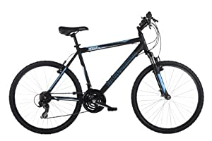 Barracuda Men's Radon Mountain Bike - Black (Wheel 26 Inch, Frame 20 Inch)