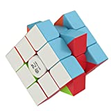 The Amazing Smart Cube [IQ Tester] 3x3 Magic Speed Cube - Anti Stress for Anti-anxiety Adults Kids - Best High Speed Puzzle Toy Turns Quicker and More Precisely