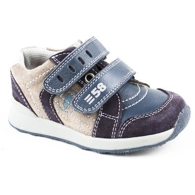 Hush Puppies - Diego Low-Top in pelle marrone, marrone (Brown), 27 EU Bambino