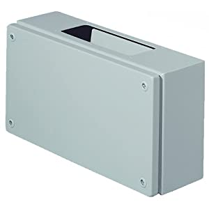 Vanity Light Junction Box Height : Rittal 1530510 Light Grey 18 Gauge Steel KL Screw Cover Junction Box with Gland Plate, 11-13/16 ...