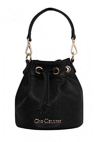 GIO CELLINI - Borsa donna tracolla mini bag c152 nero