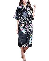 ZANZEA Sexy Kimono Robe Japanese Yukata Obi Cosplay Dress Vintage Sleepwear