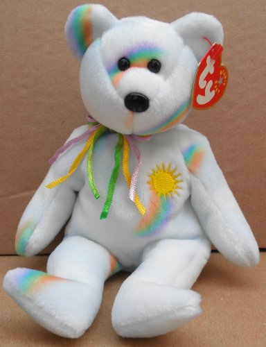 TY Beanie Babies Cheery the Bear Plush Toy Stuffed Animal