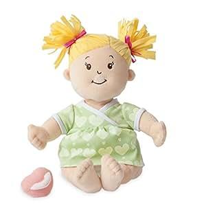 Manhattan Toy Manhattan Toy Baby Stella Blonde Soft Nurturing First Baby Doll