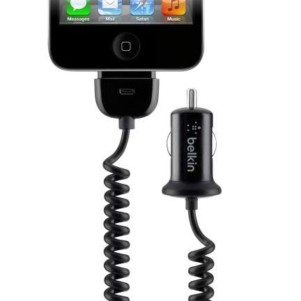 Belkin-F8J009QE-Car-Charger-(for-iPhone-4/4S)