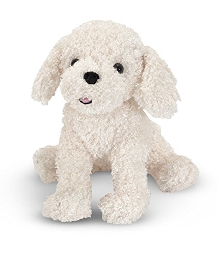 Melissa & Doug Princess Soft Toys Fluffy Bichon Frise