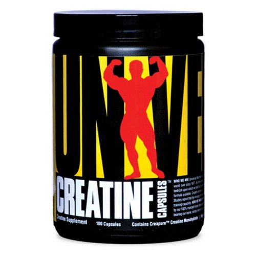 Universal Nutrition Creatine 750 Mg, 100-Count