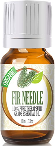 Fir Needle (Organic) 100% Pure, Best Therapeutic Grade Essential Oil - 10Ml