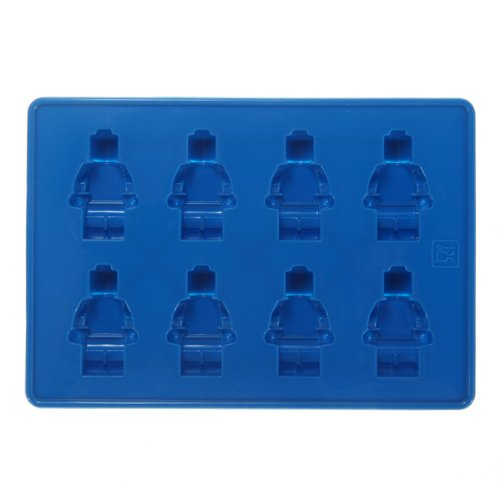 Minifigure Chocolate Freeze Mold Cake Topper Ice Tray Jelly Party Food Silicone 1pcs (color random)