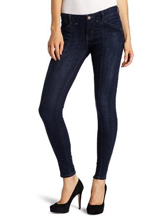 Levi's Juniors 535 Seamed Super Skinny Leg Jean, Dark Refined,24 Medium