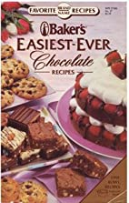 Baker's Easiest-Ever Chocolate Recipes…