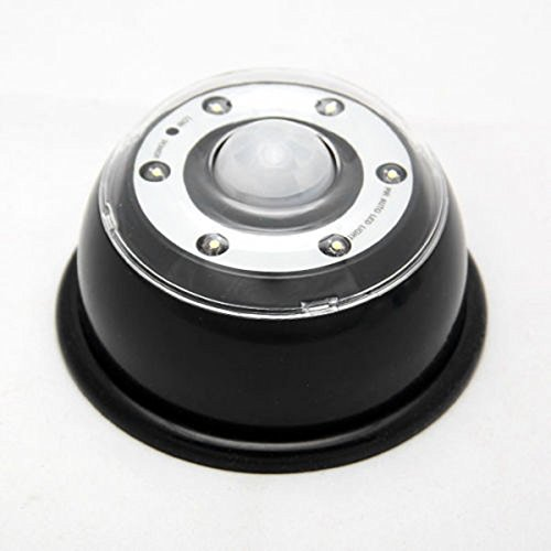 Led Light Puck For Car And Undercabinet Use - Black