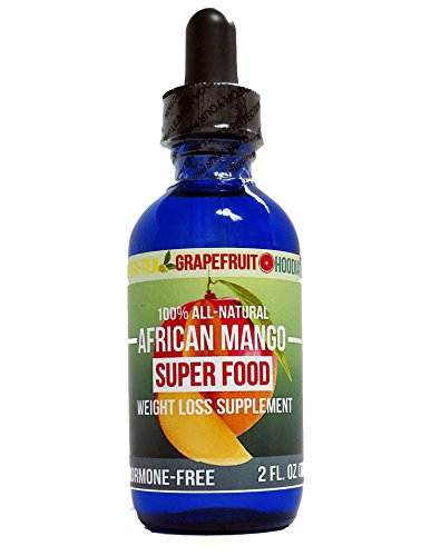 African Mango Super Food Weight Loss Supplement! 100% ALL NATURAL with Green Tea, Grapefruit, and Hoodia extract! (Mango Extract Weight Loss compare prices)