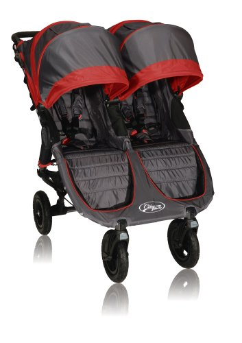 Baby Jogger City Mini Gt Double Stroller, Red