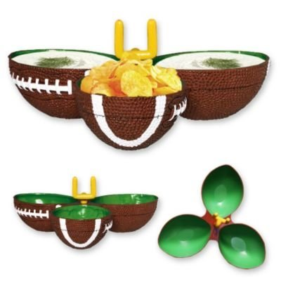 Amscan Football Frenzy Birthday Party Condiment Dish (1