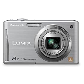 Panasonic DMC-FH25S 16.1MP Digital Camera with 8x Wide Angle Image Stabilized Zoom and 2.7 inch LCD (Silver)