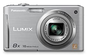 Panasonic DMC-FH25 16.1MP Digital Camera with 8X Wide Angle Image Stabilized Zoom and 2.7-Inch LCD - Silver