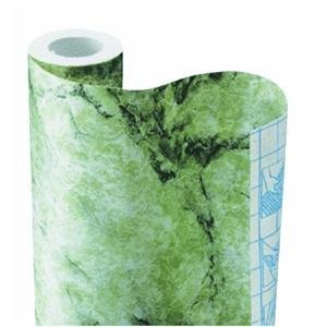 Kittrich Green Italian Marble Contact Paper - Multipurpose decorative stone covering