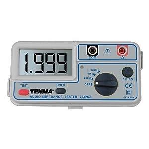 Tenma 72-6948 Audio Impedance Meter: Multi Testers: Amazon.com